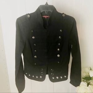 Vintage Silvergate Cropped Military Style Jacket